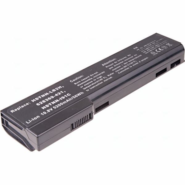 Baterie T6 power HP ProBook 6360b, 6460b, 6470b, 6560b, 6570b, 8460, 8470, 8560, 6cell, 5200mAh