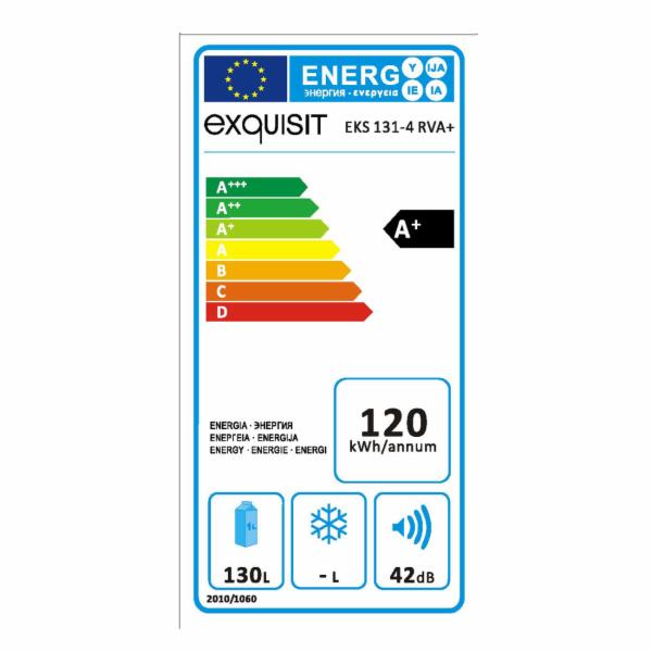Vestavná lednice Exquisit EKS 131-4 RVA+