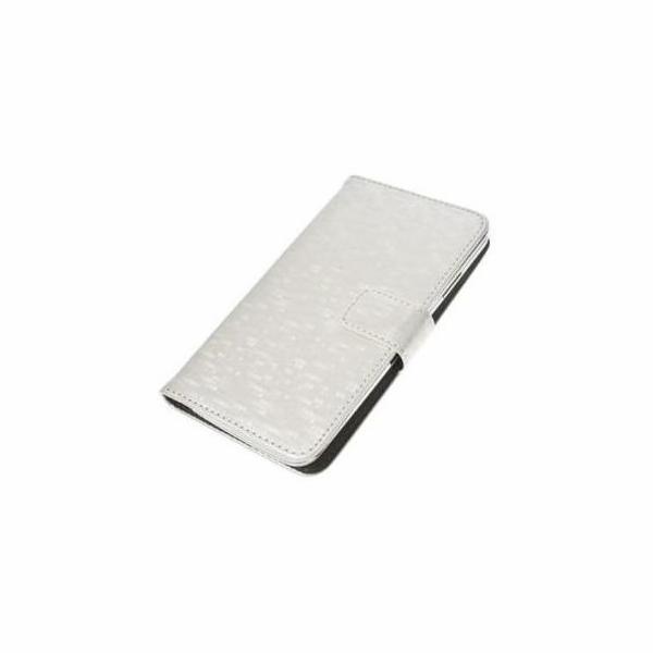 """Aligator Pouzdro BOOK GLAMMY XL (5""""- 5,5"""") White"""
