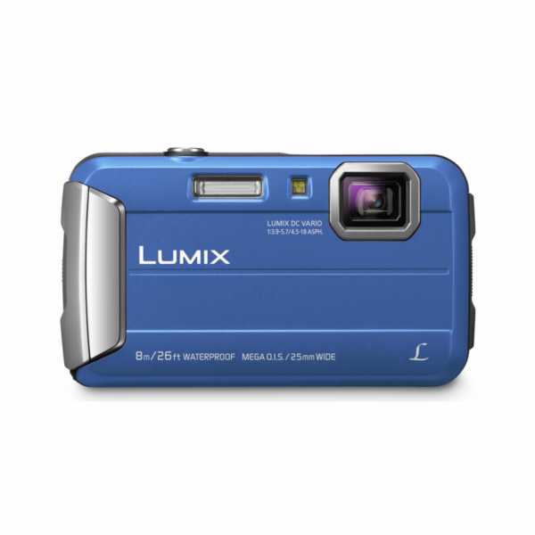Fotoaparát Panasonic Lumix DMC-FT30 modrý