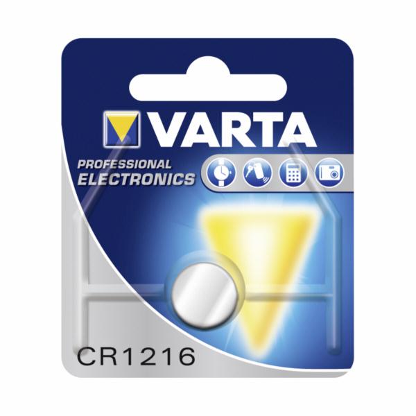 10x1 Varta electronic CR 1216 PU inner box