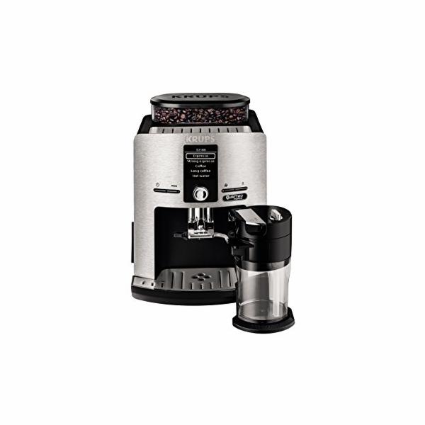 Kávovar Krups EA 82F8 - stříbrná