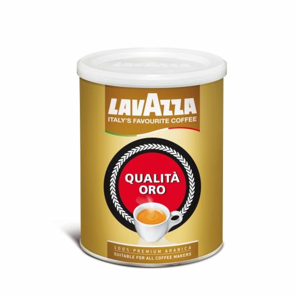 Káva Lavazza Qualita Oro 250g, mletá, dóza