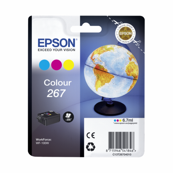 Epson ink cartridge color T 267