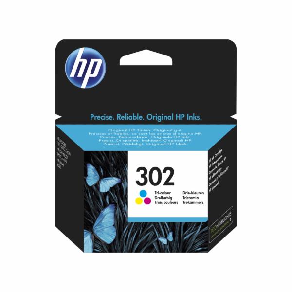 HP F6U65AE 302 Tri-color Original Ink Cartridge