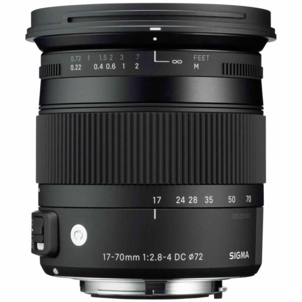 Objektiv Sigma 17-70 f2,8-4 DC Makro OS HSM Canon