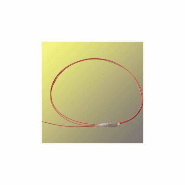 Opticord Pigtail Fiber LC 9/125µ - 1m 0,9mm cable