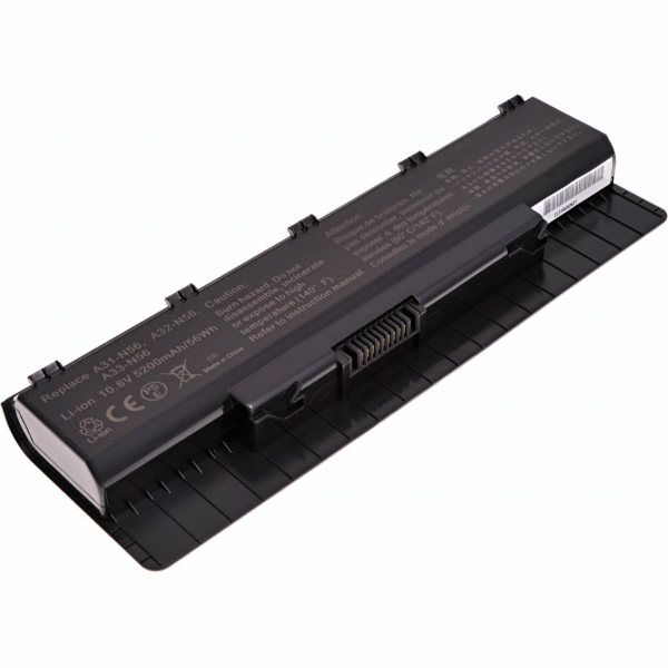 Baterie T6 power Asus N46, N56, N76, 6cell, 5200mAh