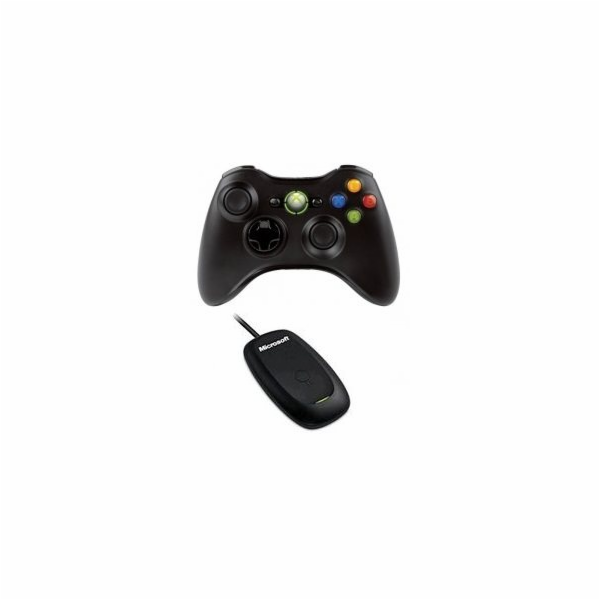 Xbox 360 & PC Wireless Controller for Windows Black