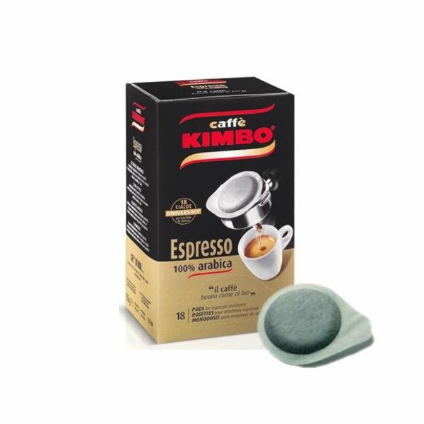 Kapsle Kimbo 100% Arabica 18x ESE 125g