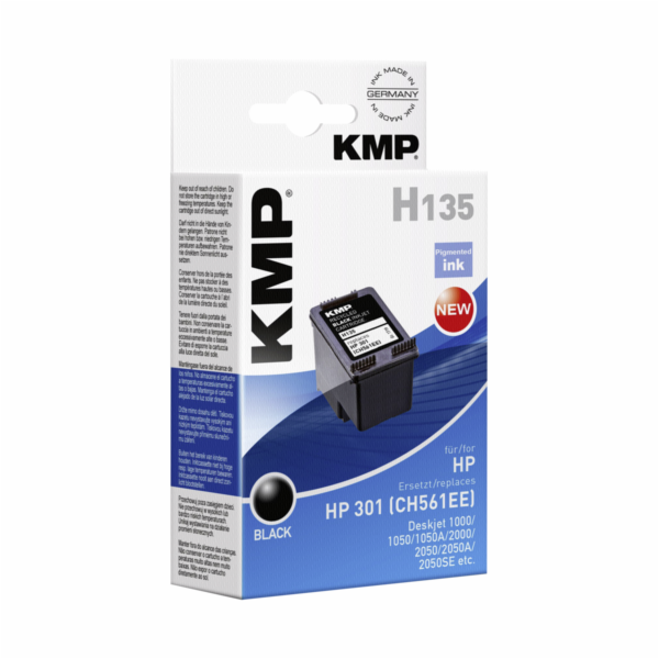 KMP H135 ink cartridge black compatible with HP CH 561 EE