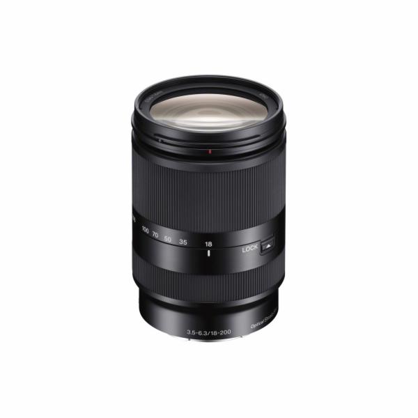SONY SEL-18200LE objektiv E se zoomem s velkým zvětšením, 18–200 mm, F3,5–6,3