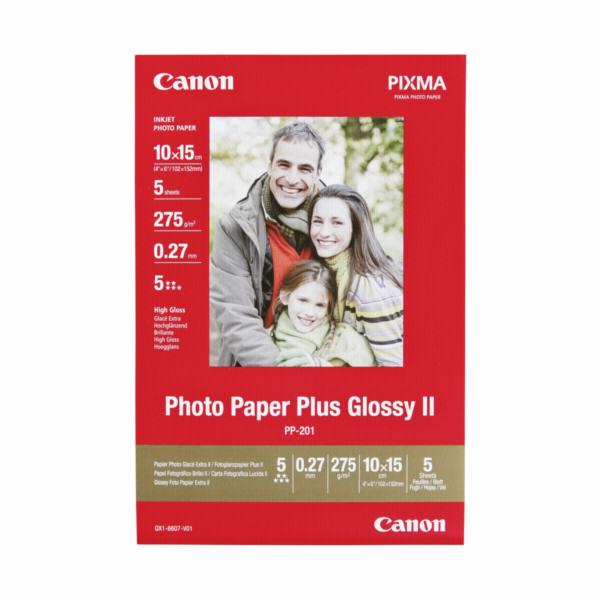 Canon PP-201 10x15 cm, 5 listu 275 g