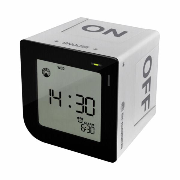 Bresser FlipMe silver radio controlled Alarm Clock
