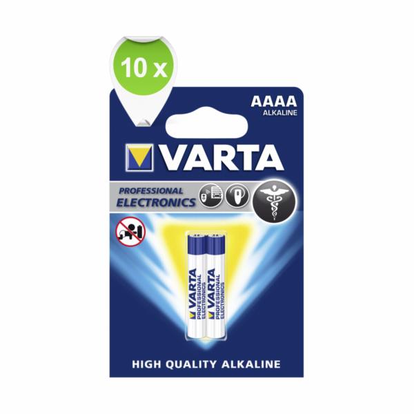 10x2 Varta Professional AAAA VPE Inner Box