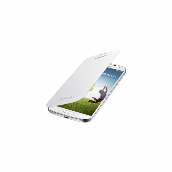 Flipové pouzdro Samsung EF FI950BWEG S4 White