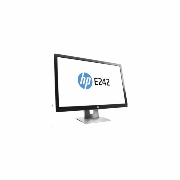 "HP EliteDisplay E242, 24"" IPS/LED, 1920x1200, 1000:1, 7ms, 250cd, VGA/DP/HDMI, USB, PIVOT"