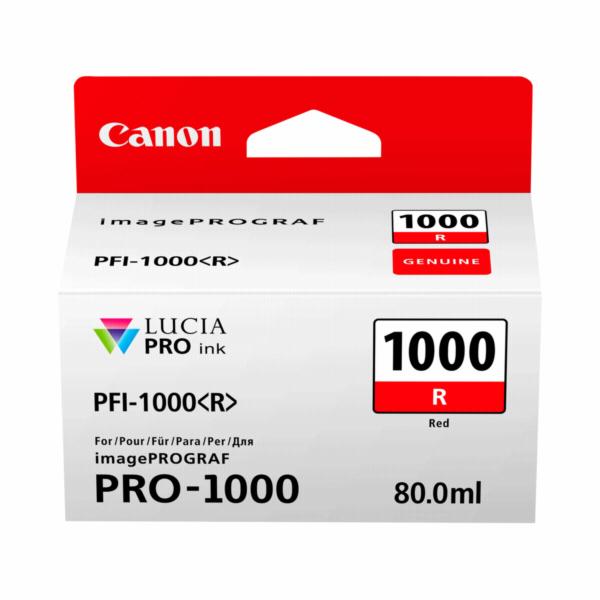 Canon PFI-1000 R red
