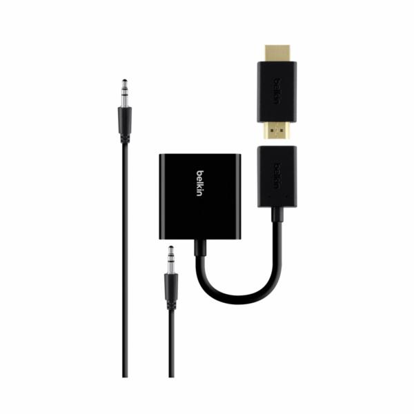 Belkin HDMI na VGA-adapter s audiokabelem cerny B2B137-BLK