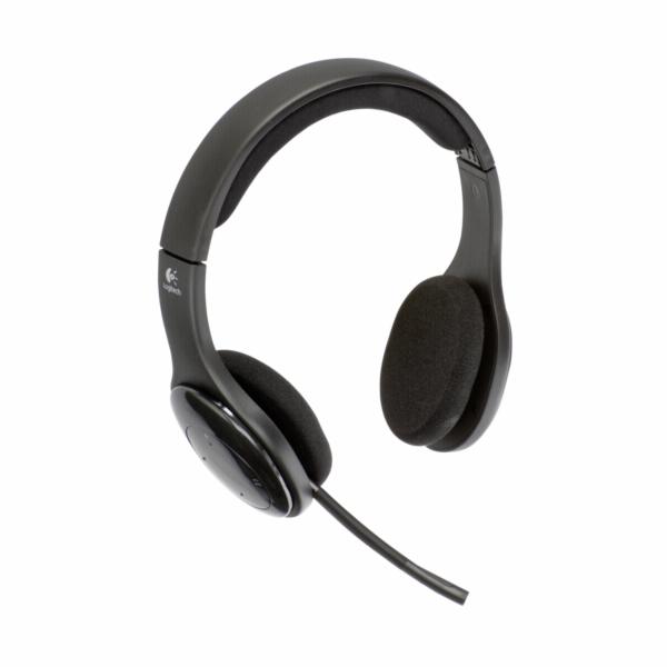Headset Logitech H800 černý