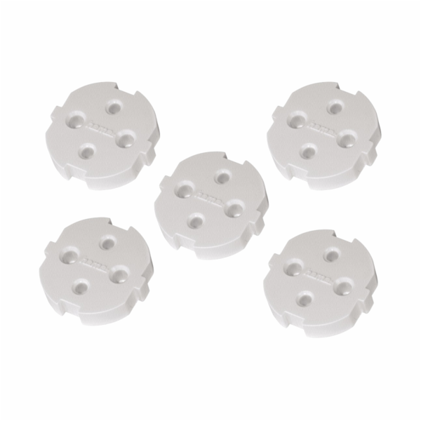 Hama Child Safe Covers for Sockets with Earth Contact, 5pcs