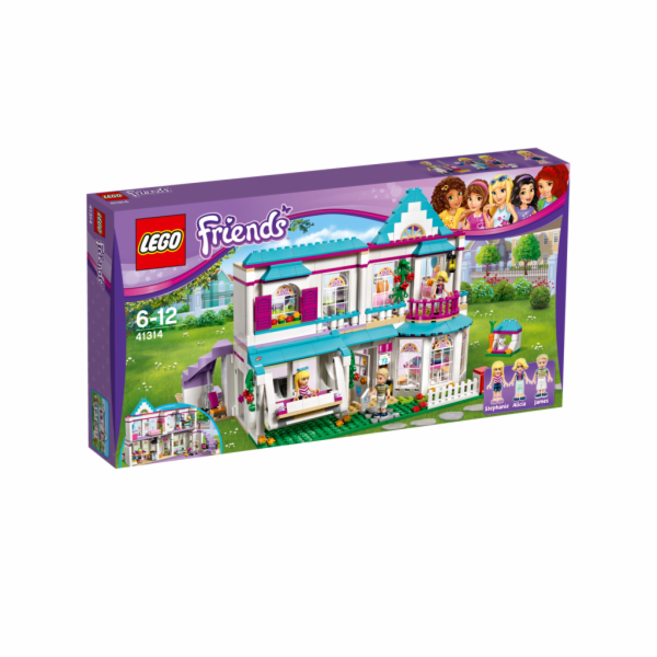 LEGO Friends 41314 Stephanie`s House