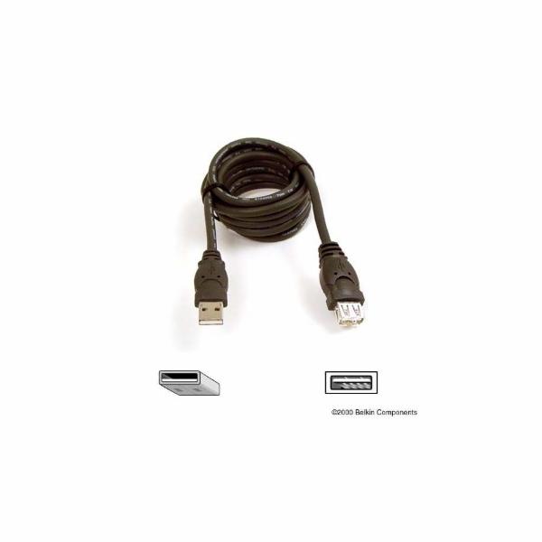 BELKIN USB prodlužovací kabel, A-A konektory, 3 m