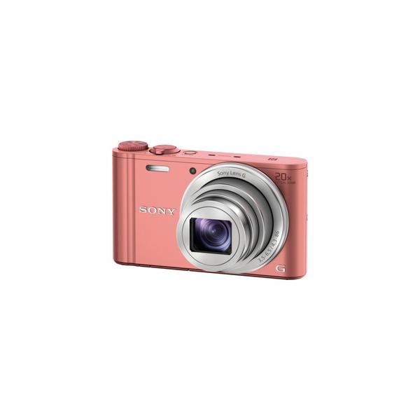 Fotoaparát Sony DSC-WX350 P růžový