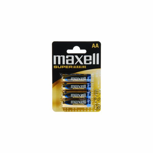 LR6 4BP AA Super Alk MAXELL