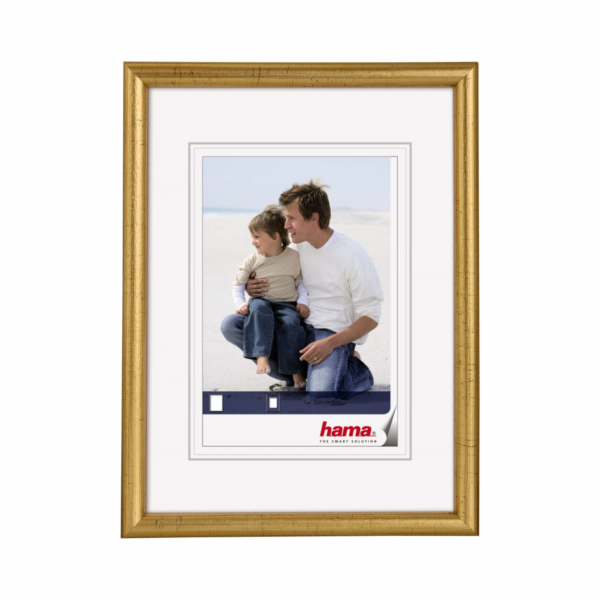 Hama Oregon gold 7x10 Wooden Frame 64702