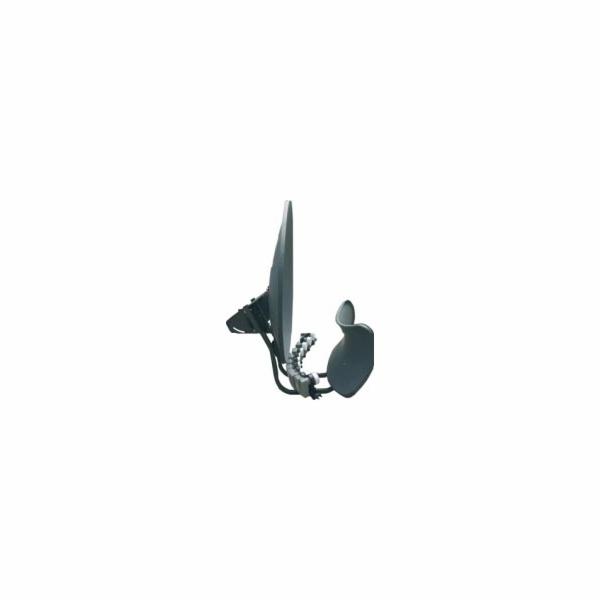 Satelitní parabola Maximum Toroidal T-90 multifokus pro až 16 LNB šedá