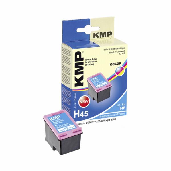 KMP H45 cartridge barevna komp. s HP CC 644 EE c. 300XL