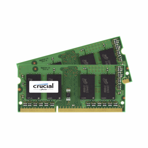 Crucial 16GB DDR3 1600 MT/s Kit 8GBx2 SODIMM 204pin CL11
