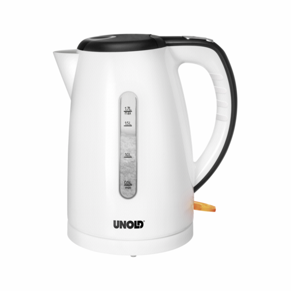 Unold 18510 Water Kettle Shine White
