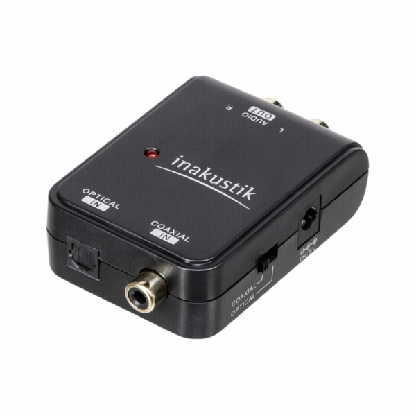 in-akustik Star Digital Audio Converter Toslink - Cinch