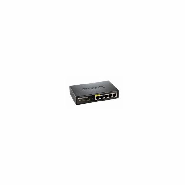 D-Link DES-1005P 5x 10/100 1x PoE Desktop Switch
