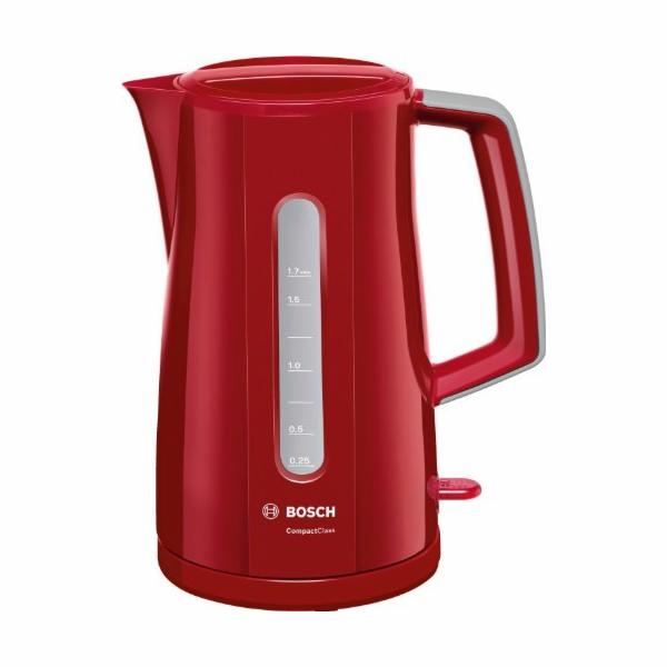 Varná konvice Bosch TWK3A014 Compact Class červená