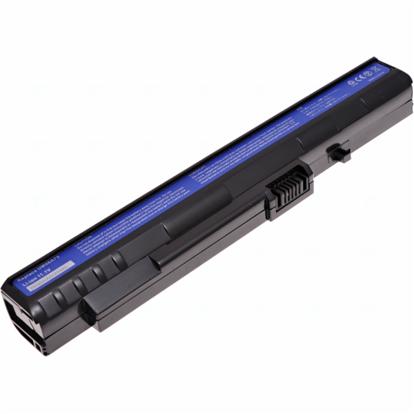 Baterie T6 power Acer Aspire One 8, 9, 10, 1, A110, A150, D150, D250, P531h, 3cell, 2600mAh, black