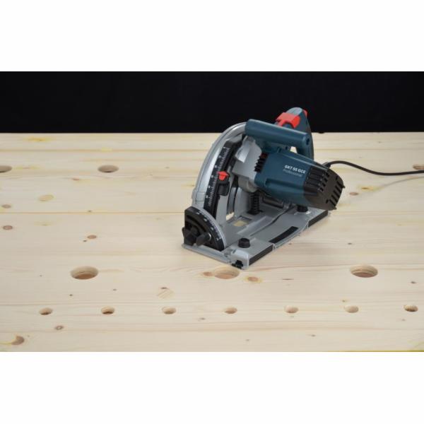 Pila ponorná Bosch GKT55GCE (0615990EA8) L-Boxx + vodící lišty