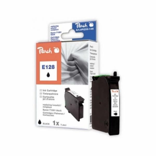 PEACH kompatibilní cartridge Epson T1281, Black, 11,5 ml