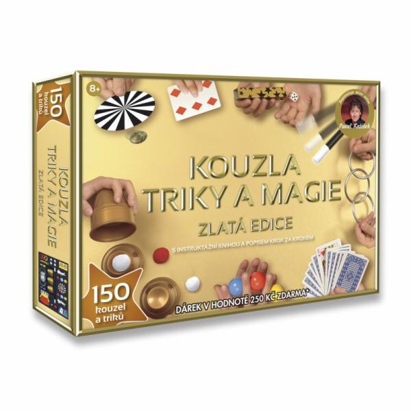 Kouzla, triky a magie - Zlatá edice, 150 triků