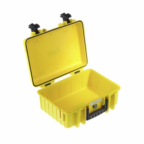 Kufr B&W 4000 žlutý vč. přihrádek