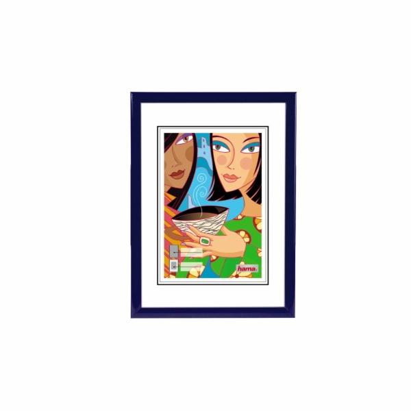 Rámeček plastový Hama MADRID 13x18, modrý