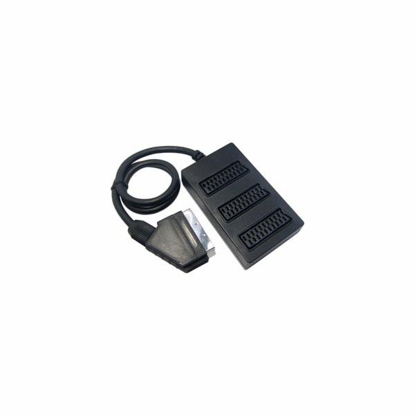 SAV 134-000 SCART M-3xSCART F P SENCOR