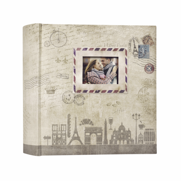 ZEP Ulisse brown 13x18 200 Photos Memo Album UL57200B