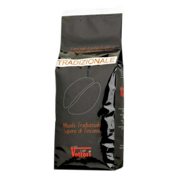 Káva Vettori Tradizionale 100% Robusta 1kg zrnková