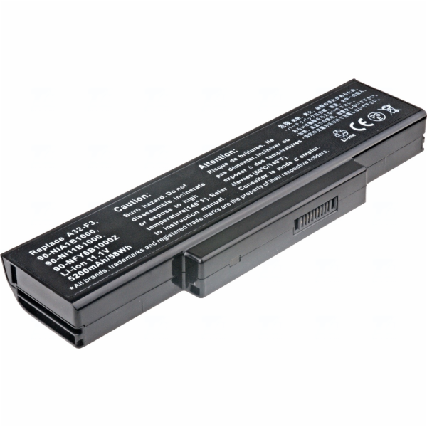Baterie T6 power Asus F2, F3, F7, M51, X53, X56, Z53, Z9400, Z94, 6cell, 5200mAh