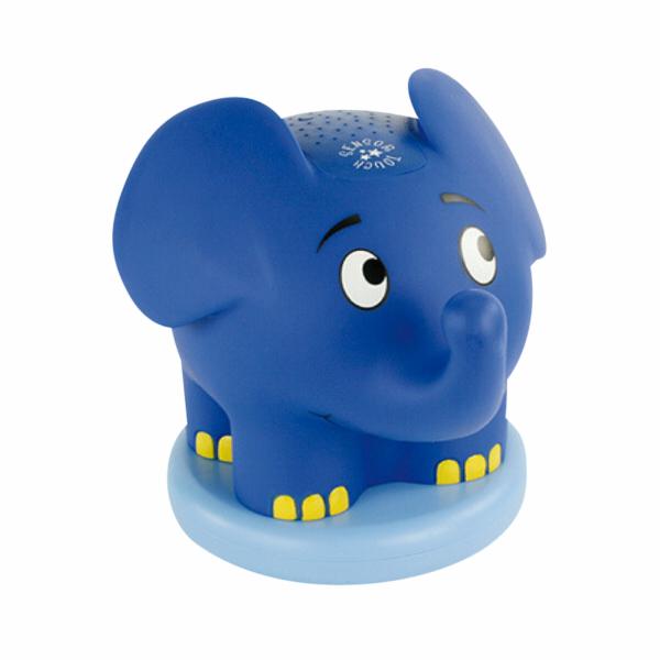 Noční světlo Ansmann Elefant s hudbou