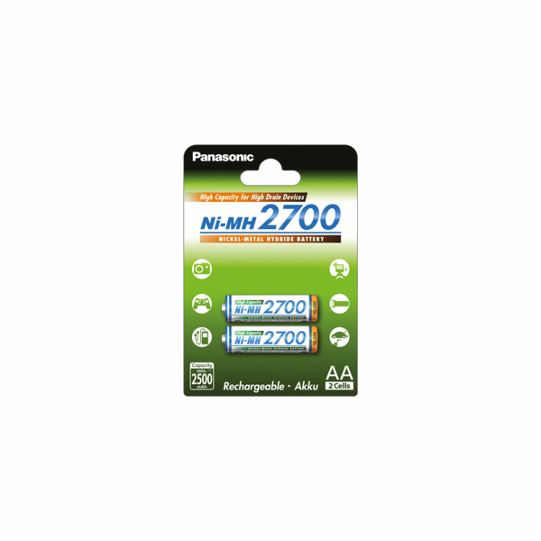 HR6 AA 3HGAE/2BE HICAP 2700 PANASONIC