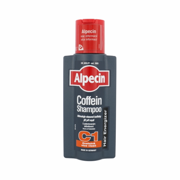 Přípravek proti padání vlasů Alpecin Caffeine Shampoo Hair Energizer 250ml